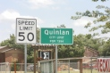 Quinlan, TX, population changed in 40+ years